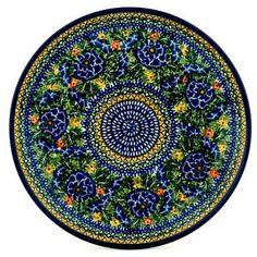 Polish Pottery 10-inch Plate | Boleslawiec Stoneware | Polmedia H2459C