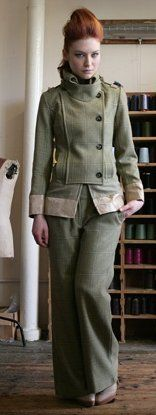 Harris tweed coat and pants