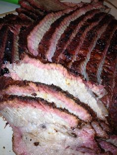 How to Smoke a Brisket in a Big Green Egg