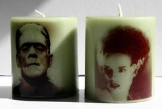 Frankenstein and Bride of Frankenstein Monster Horror by Bloodbath, $14.00 (Etsy.com)