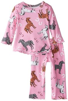Girls Horse Pajamas | Birthday & Holiday Gifts | RidingCorner.com ...