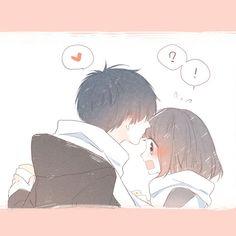 Chibi Couple, Cute Couple Cartoon, Cute Couple Art, Manga Couple, Anime Love Couple, Anime Cupples, Chica Anime Manga, Fanarts Anime, Anime Chibi