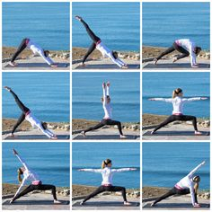 Printable Yoga FLOW Sequence part 1
