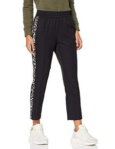 Scotch & Soda Women's Tapered Leg Pants with Contrast Side Panels Trouser Scotch Soda, Cool Girl, Contrast, Trousers, Sweatpants, Amazon, Stuff To Buy, Fashion, Pants