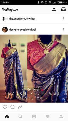 Kanjivaram Silk Saree #Kanchipuram
