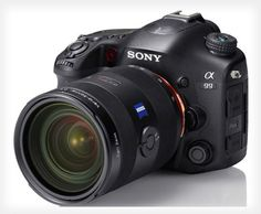 Sony Unveils the A99: The World's First Full Frame SLT Camera