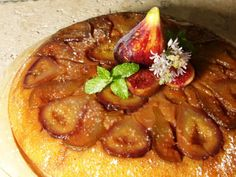Nonstick Cast Iron Skillet Upside-Down Pumpkin Fig Cake | Carefree Cooking Magazine