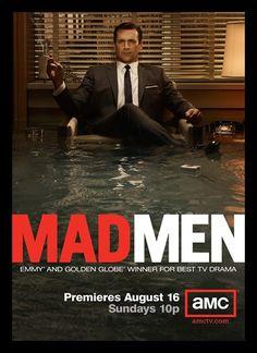Quadro Poster Series Mad Men 4 - Comprar em Decor10