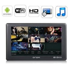 5 Inch Android 4.0 MID Tablet PC Capacitive Touchscreen 8GB AllWinner A13 Processor HD 1080P