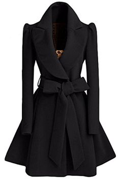 Shop Black Shawl Collar Frock Coat With Belt online. SheIn offers Black Shawl Collar Frock Coat With Belt & more to fit your fashionable needs. Mantel Elegant, Belted Coat, Vintage Coat, Vintage Black, Vintage Dress, Vintage Style, Mode Hijab, Coat Dress, Frock Coat