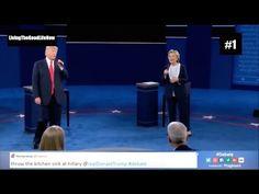 Lip Sync Battle Donald Trump vs Hillary Clinton Sing The Time Of My Life Presidential Debate Full HD - YouTube
