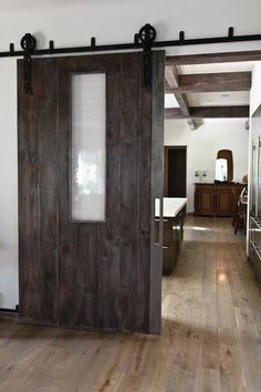 Alternative To French Doors Room Divider Barn Door W Window
