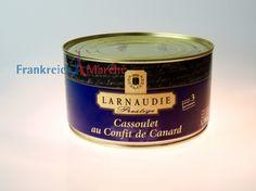 Schon mal mit einem Franzosen geduscht?-Larnaudie Prestige,Cassoulet au Confit de Canard,Bohneneintopf