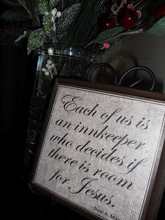 for women I visit teach for Christmas, might not be right saying, but it is a nice thought to remind us through the year