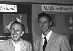 Left: Walt Disney    Right: Roy E. Disney