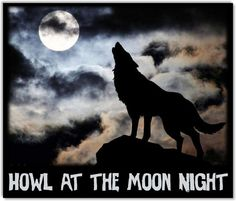 October 26 is Howl at the Moon Night. Howl At The Moon, October, Night, Celebrities, Day, Movies, Movie Posters, Celebs, Film Poster