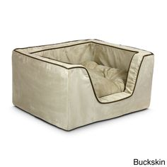 Snoozer Luxury Multicolored Square Dog Bed