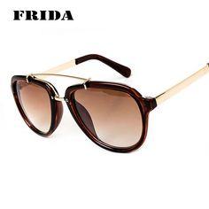 39f0707ad00 FRIDA 2016 Fashion Sunglasses Women Brand Designer Sun Glasses Gafas De Sol  Women Cat Eye Vintage