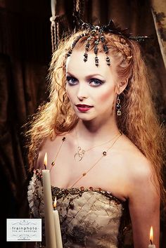 Irish Warrior Princess #Youngblood makeup by me