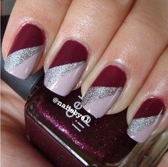 nails Related posts: # Christmas nails Gorgeous Nail Art Ideas for Spring Nails – Page 67 of 99 – 43 beautiful nail art designs for sarong nails … Fancy Nails, Cute Nails, Pretty Nails, My Nails, Sliver Nails, Holiday Nails, Christmas Nails, Nagellack Design, Nagel Blog