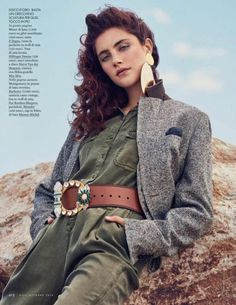 Anna Speckhart Embraces Outdoor Fashion in ELLE Italy by Fashion Gone Rogue  #AnnaSpeckhart, #Editorial, #Fashion, #Moda