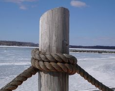 Decorative Pier Post with Rope | millwork posts the decorative post trim the please be sure to visit ...