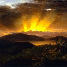 Frederic Edwin Church, The After Glow (1867)