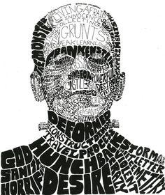 Digital Art Education: 2013 Calligrams | Ideas for Peabody ...