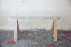 bureau design verre mobilier design furniture desk