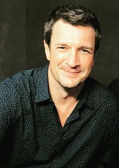 """"""" Night fellow Hope your Monday was a good one. Mine wasn't too bad. Had a good work day. Now relaxing, watching TV & reading Castle fanfic. Shiny Nate dreams to all & I'll see you tomorrow morning. Nathan Fillon, Johny Depp, Mustache, Castle, Reading, Celebs, Posters, Dreams, Night"""
