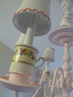 shabby chandelier - Google Search