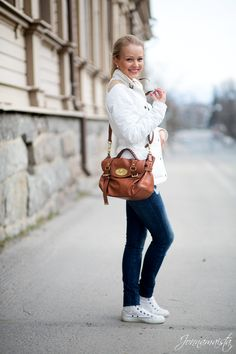 Jonnamaista: Outfit in Quilted Jacket