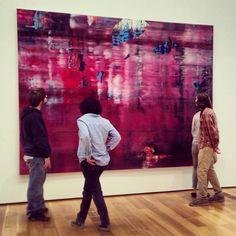 Abstrakes Bild, 1997. High Museum of Art Gerhard Richter