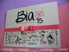 Lançamento :: Você está procurando uma maneira divertida de anunciar sua FESTA DE 15 ANOS?  Esse é o estilo é a maneira perfeita!
