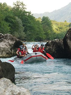 """Per National Geographic, a best family vacation:  OARS Bosnia and Herzegovina rafting trip.  """"the Tara, the """"Grand Canyon"""" of the Balkans. Then the Neretva, the """"Nile of Herzegovina"""" for its emerald color. Finally, the Vrbas River, rated one of the most beautiful whitewater rivers in the world. the best rafting in Europe, but also the indescribable charm of its people and cities. The second half of the trip explore the streets and sites of Sarajevo—Banja Luka, Jajce and Mostar."""""""