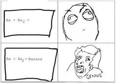 I wish i was a chem major so that I could do this on a test