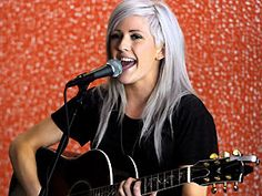Ellie Goulding hair, freaking love it! Color and all!