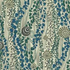 Daisy Anne fabric, Liberty of London. I want to stitch on this.