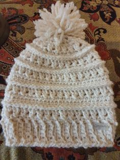 Crotchet, Knitted Hats, Winter Hats, Homemade, Knitting, Projects, Fashion, Log Projects, Moda