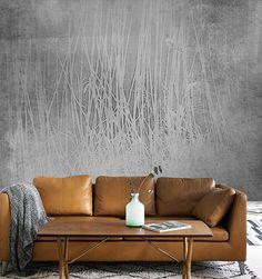 Inspirace obývací pokoj - Luxusní vliesová tapeta