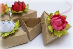 Mille gru di carta: Fiori di loto