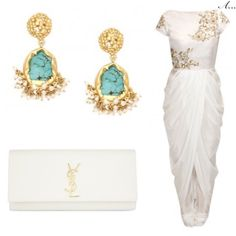 great vancouver wedding Turquoise is the perfect pop of colour with an all white outfit! #arpaandressedme #indianaccessories #indianstyle #bollywoodfashion #bollywoodstyle #indianbride #accessories #indianwedding #tishasaksena #punjabi #selfie #lehenga #beauty #bollywood #india #dubai #mumbai #delhi #punjab #punjabibride #bollywoodbride #anarkali #beautiful #ootd #ootn #fashionista #fashiondiaries #zariin  #vancouverindianwedding #vancouverwedding #vancouverwedding