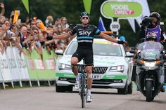 Ian Stannard (Sky) wins stage 3 of the Tour of Britain