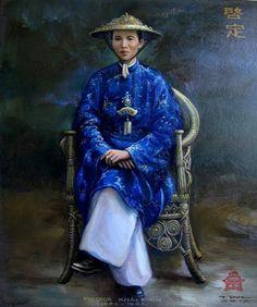 KHẢI ĐỊNH - Chân Dung Các Vua Triều Nguyễn