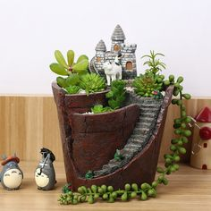 Cheap ornamente free, Buy Quality ornamental lantern directly from China ornament ring Suppliers: Mini tree stump hollow model figures Micro fairy garden miniature/succulents/doll house figurine Decoration aquarium orn