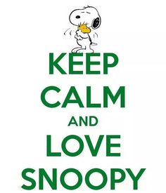 How can you not love Snoopy?