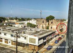 Calle Altamira desde el Ex- Hospital Civil Carlos Canseco recorrido del Grupo Tampico Antiguo