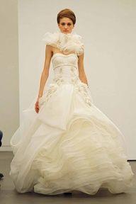 Vera Wang Fall 2013 Bridal Collection via Weddingish Blog