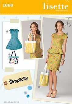 Simplicity Creative Group - Misses' & Miss Petite Dress & Separates by Lisette M1666