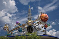 tomorrowland, walt disney world, astro orbiter...I have no idea why I have never rode this ride...and I've been there 7 times????